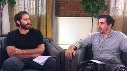 Ο Jake Gyllenhaal μιλά με τον επιζώντα του Μαραθωνίου της Βοστόνης που υποδύεται στο «Stronger» και όλα πάνε