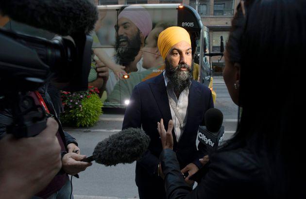 Mercredi soir, Jagmeet Singh a livré un message rassembleur après avoir pris connaissance...