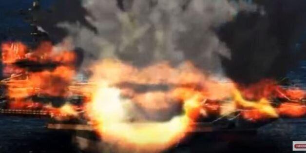 Προπαγανδιστικό βίντεο από τη Βόρεια Κορέα, με καταστροφή αμερικανικών μαχητικών και