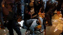 Ισπανία - Δημοψήφισμα: Εθνοφύλακες υπό πολιορκία στο συμβούλιο Οικονομίας στην