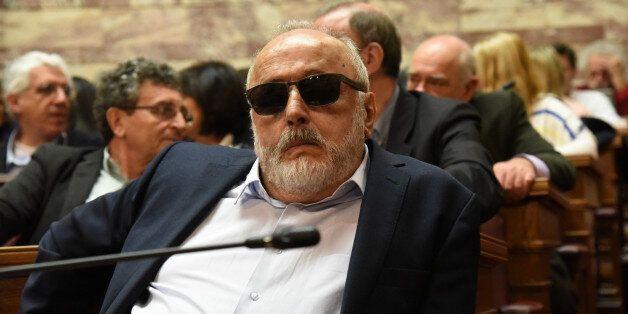 Minister of Interior Panagiotis Kouroublisin Athens, Greece, on April 4, 2016. (Photo by Wassilios Aswestopoulos/NurPhoto...