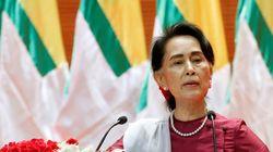 Η ηγέτης της Μιανμάρ Αούνγκ Σαν Σου Κι καταδίκασε όλες τις παραβιάσεις ανθρωπίνων