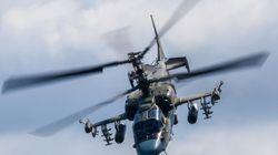 Ρωσικό επιθετικό ελικόπτερο εκτόξευσε κατά λάθος ρουκέτα κατά παρκαρισμένων οχημάτων σε