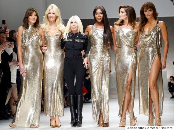 Κανείς δεν ήταν έτοιμος για την επανένωση αυτών των πέντε supermodels στην