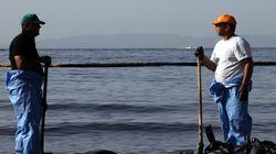 Αυτοψία στο σημείο του ναυαγίου στον Σαρωνικό για την πορεία των εργασιών