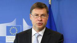 Ντομπρόβσκις: Πρωτογενές πλεόνασμα 3,5% για το 2018. Δεν τίθεται θέμα