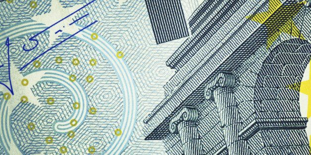 Close-up of Five Euro Banknote. High resolution photo taken with Canon 5D Mark II and Sigma