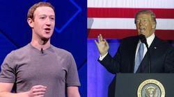 Ο Trump ισχυρίστηκε πως το Facebook είναι εναντίον του, και ο Mark Zuckerberg του απάντησε