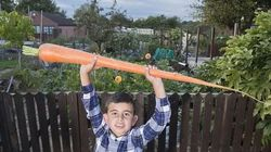Κηπουρός στην Αμερική καλλιεργεί γιγαντιαίο