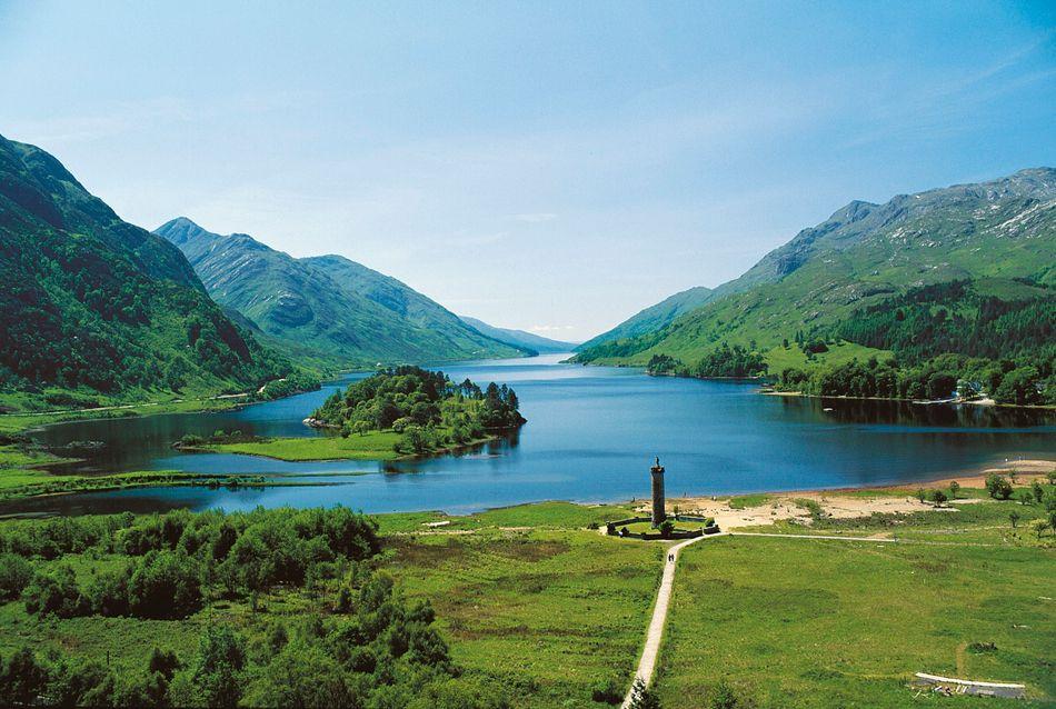 Loch (Lago) Shiel, perto de Fort Williams, nas Highlands escocesas, é o pano de fundo de muitos momentos em Hogwarts.