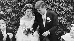 Σπάνιο φωτογραφικό υλικό από το γάμο των John και Jackie