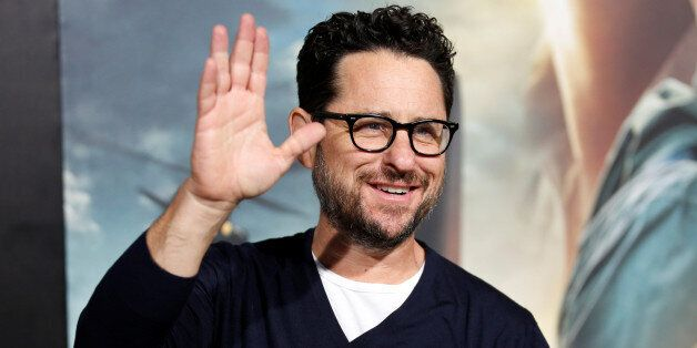 Director J.J. Abrams arrives as a guest at a premiere of the
