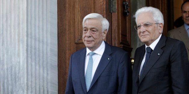 Η θεσμική εμβάθυνση της ΕΕ στο επίκεντρο της συνάντησης Παυλόπουλου με τον Ιταλό ομόλογό του