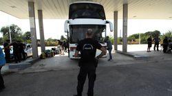 Στην δομή φιλοξενίας Κορίνθου μεταφέρονται οι πρόσφυγες από τις καταλήψεις στην πλατεία