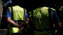 Εργαζόμενοι στην «Ελληνικός Χρυσός» εισέβαλαν στον στο υπουργείο