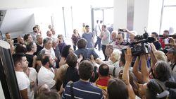 Ένταση στο Ειρηνοδικείο στη Λάρισα κατά τη διάρκεια κινητοποίησης για τους