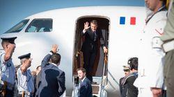 Αναχώρησε για Παρίσι ο Γάλλος Πρόεδρος και η σύζυγός