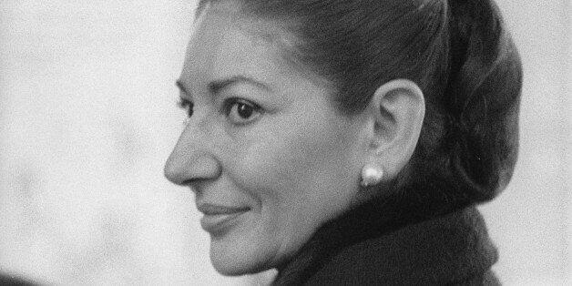 (GERMANY OUT) Maria Callas *02.12.1932-16.09.1977+Sängerin, Sopran, USA / GriechenlandPorträt- 1974...