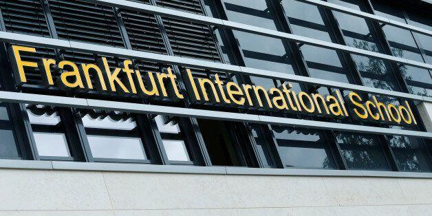An outside view of the Frankfurt International School in Oberursel near Frankfurt, Germany August 18,...