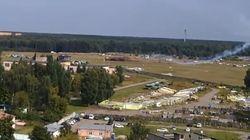 Τραγωδια στη Μόσχα: Συντριβή αεροσκάφους σε επίδειξη. Δύο οι