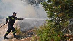 Καλύτερη η εικόνα στις πυρκαγιές στη