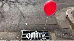 Κόκκινα μπαλόνια άρχισαν να βγαίνουν από φρεάτια, αλλά δεν υπάρχει λόγος