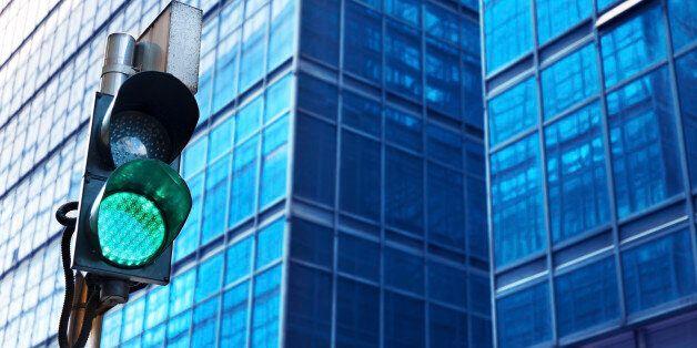 Traffic light with urban