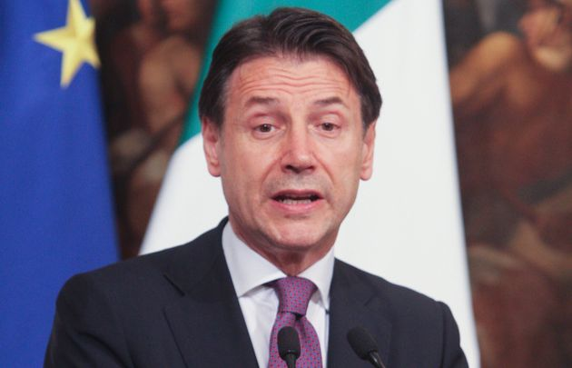 ROME, ITALY - 2019/09/18: The Italian Prime Minister Giuseppe Conte during the bilateral meeting held...