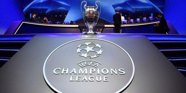 MONTE CARLO, MONACO - AUGUST 24: UEFA Champions League trophy is seen during the UEFA Champions League...
