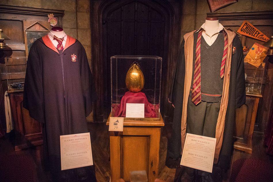 Harry Potter: The Exhibition é uma exposição itinerante de acessórios, figurinos e outros objetos da série de filmes. Ainda não foi anunciada qual será a próxima escala de sua volta ao mundo.