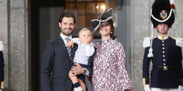 STOCKHOLM, SWEDEN - JULY 14: Prince Carl Philip of Sweden, Prince Alexander of Sweden and Princess Sofia...