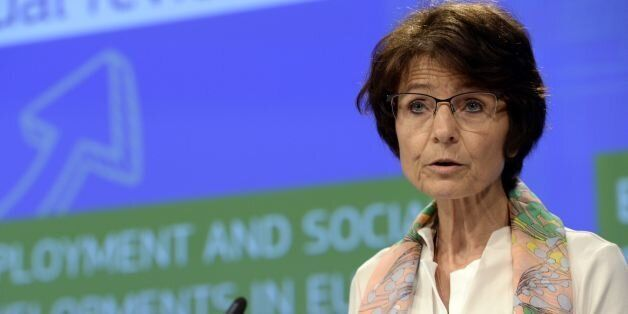 European Union Commissioner for Employment, Social Affairs, Skills and Labour Mobility Marianne Thyssen...