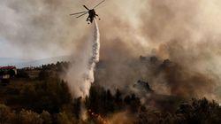 Ιωάννινα: Μεγάλη πυρκαγιά κοντά στον οικισμό του