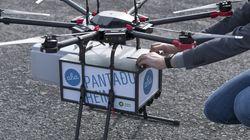 Το πρώτο drone για delivery ίπταται πλέον στους αιθέρες της