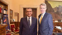 Επίσκεψη του Αμερικανού Πρέσβη στην Αθήνα στον Περιφερειάρχη Νοτίου Αιγαίου στη