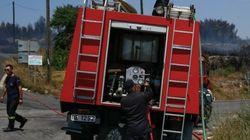 Πυρκαγιές σε Πρέβεζα, Πρέσπες, Φάρσαλα και