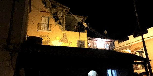 An earthquake hit the popular Italian tourist island of Ischia, off the coast of Naples, causing several...