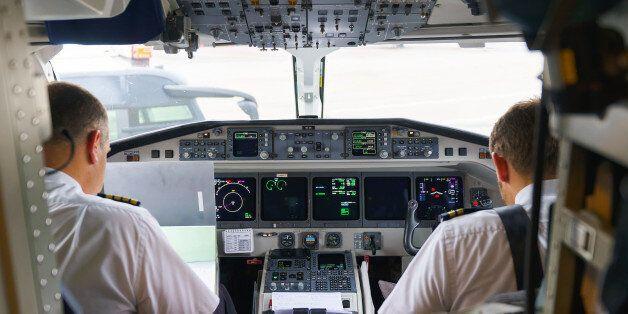 Leipzig, Germany - September 11, 2014: Darwin Airline Saab 2000. Darwin Airline, operating under the...