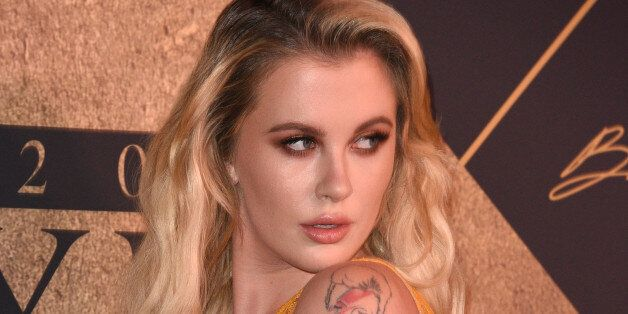 LOS ANGELES, CA - JUNE 24:  Ireland Baldwin arrives at the The 2017 MAXIM Hot 100 Party at Hollywood Palladium on June 24, 2017 in Los Angeles, California.  (Photo by C Flanigan/Getty Images)