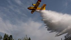 Πυρκαγιά εκδηλώθηκε στην Κρήτη. Χωρίς τέλος η μάχη των