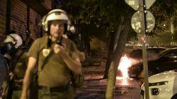 Επίθεση με βόμβες μολότοφ εναντίον αστυνομικής δύναμης στην