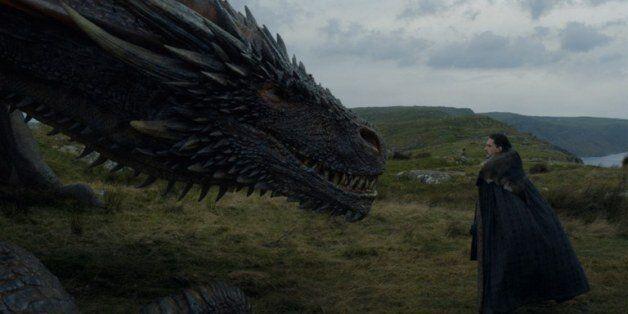 Η σκηνή του Jon Snow με τον Drogon μπορεί να επιβεβαιώνει την πιο σημαντική προφητεία του Game of