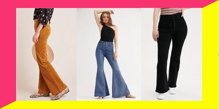 You're not having a flashback. Flare jeans are having a moment.