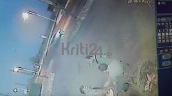 Βίντεο: H στιγμή του φονικού τροχαίου της Πέμπτης στα Χανιά, με θύματα δύο