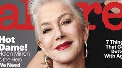 Το Allure κατάργησε τον όρο «αντιγήρανση» και ανακήρυξε την Helen Mirren ως ηρωίδα του τέλειου αυτού