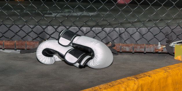 Girl Wrapping Her Hands with Yellow Hands Wraps: Fitness and Boxing