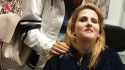 Η Μυρτώ πήγε στο ΟΑΚΑ για να παρακολουθήσει την αγαπημένη της ΑΕΚ.