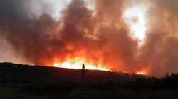 Αναζωπυρώθηκε η φωτιά στα Κύθηρα. Εκκενώθηκαν οι οικισμοί Αραιοί και