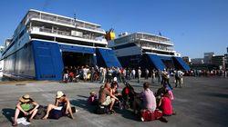 Ώρα «εξόδου» για τους αδειούχους του Αυγούστου. Αυξημένη κίνηση στα λιμάνια Πειραιά, Ραφήνας,