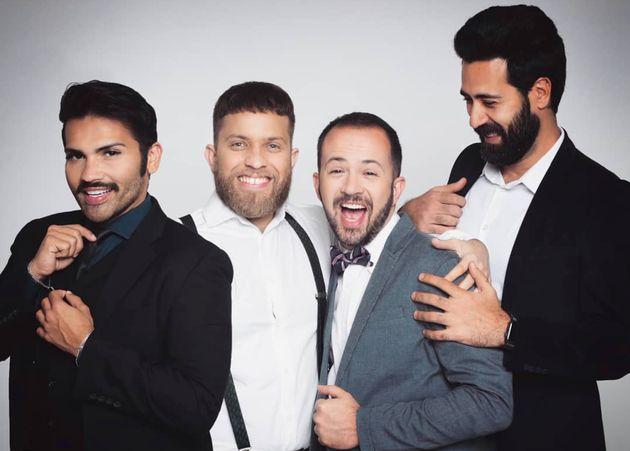 Marcell, Renato, Bolacha e Tiago são os astros brilhantes da galáxia